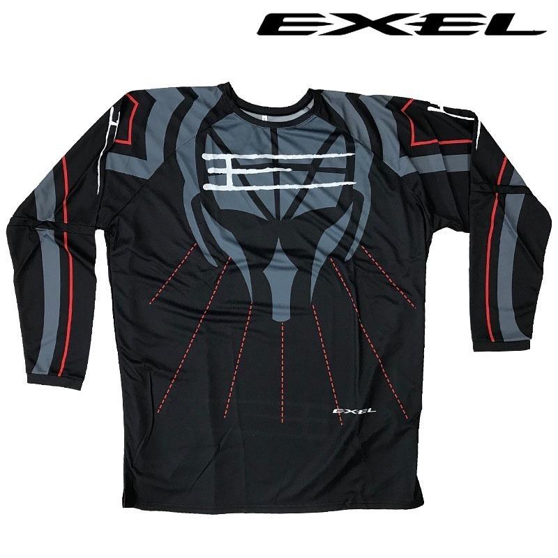 Exel Goalie Jersey No Chance black