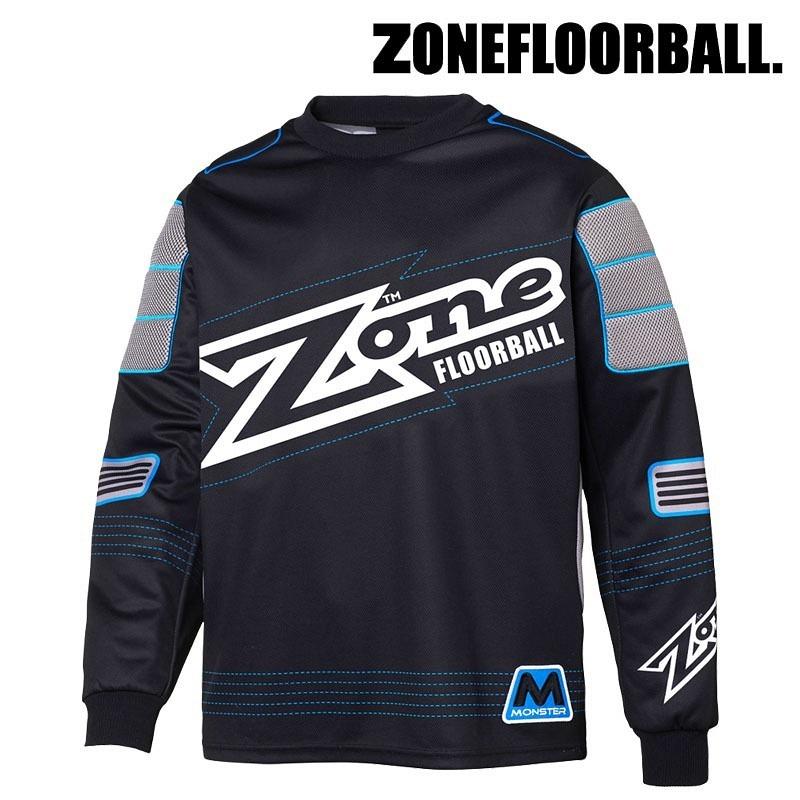 Zone Goaliepullover Monster schwarz/blau