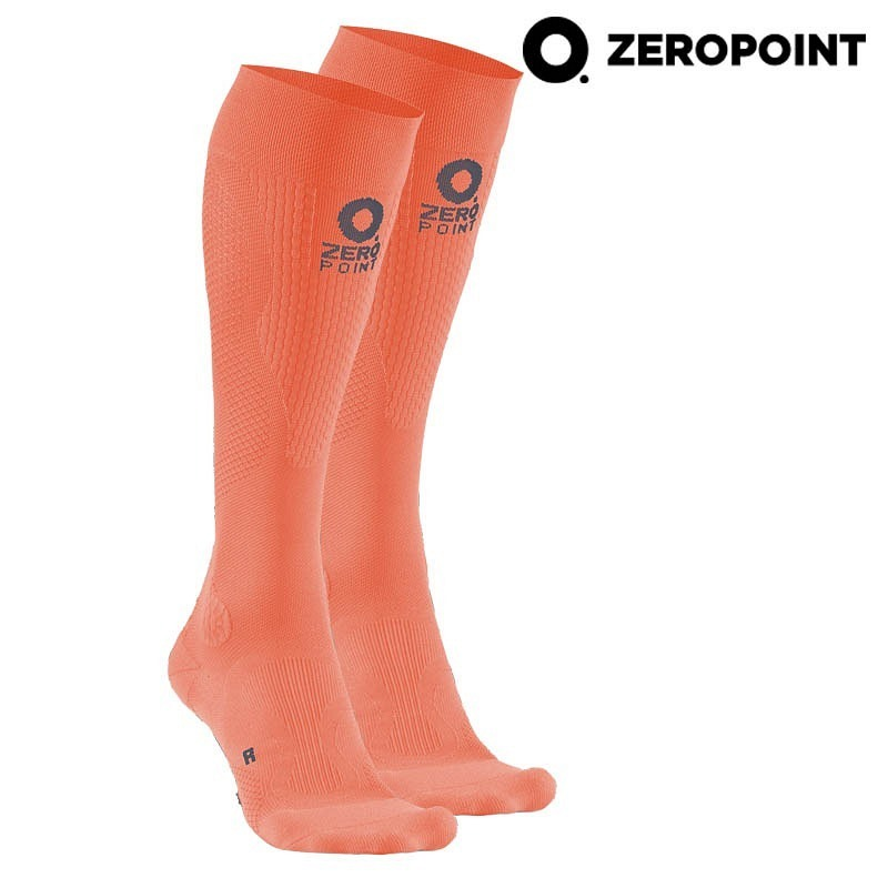 Zero Point Intense Compression Socks Women orange