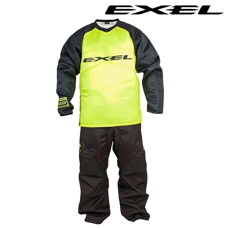 Exel Goalieset G3 Senior schwarz-gelb