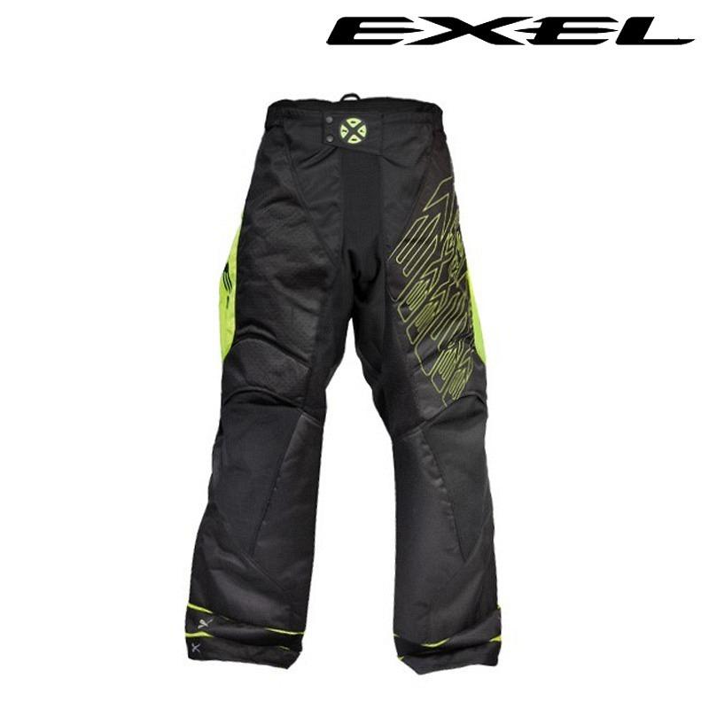 Exel G1 Goaliepants black-yellow