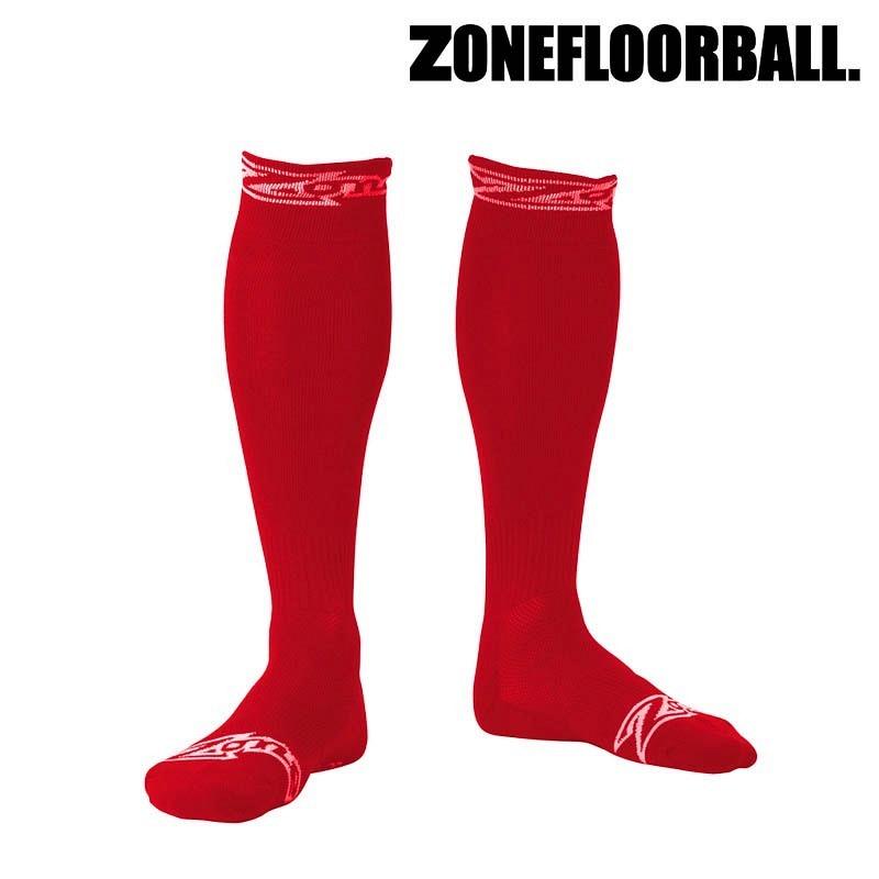 Zone Socken Stripe rot